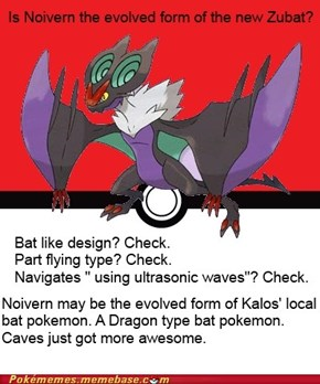 Is Noivern the new Zubat?