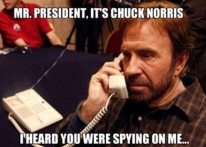 The NSA is Afraid of Chuck Norris