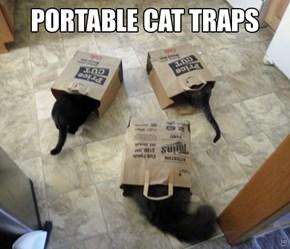 Portable Cat Traps