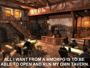 A Real Economy in an MMORPG Would be Fantastic