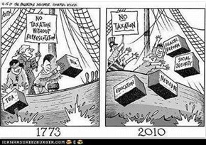 Tea Party Then and Now