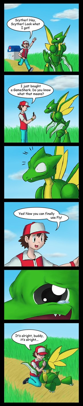 Scyther's Dream Comes True