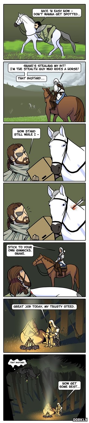 Battle of the Stealth Horses
