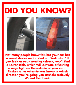 Important Driving Announcement!