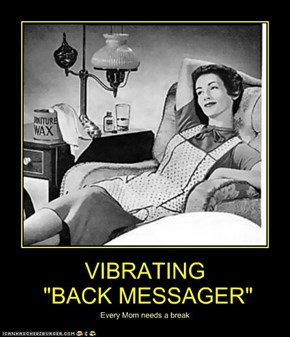 "VIBRATING  ""BACK MESSAGER"""