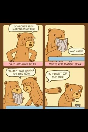 Baby Bear's Definitely Going to Therapy