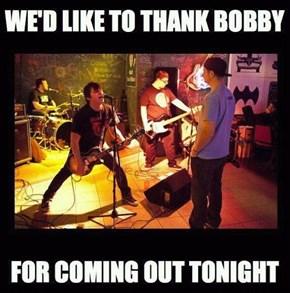 Thanks, Bobby!