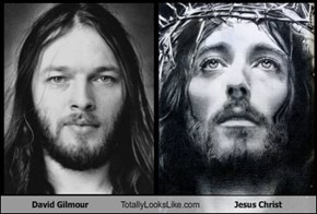 David Gilmour Totally Looks Like Jesus Christ