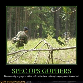 SPEC OPS GOPHERS