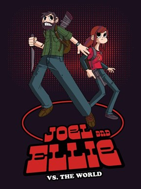 The Last of Us Meets Scott Pilgrim