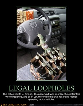 LEGAL LOOPHOLES