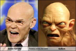 James Carville Totally Looks Like Gollum