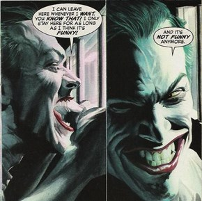 The Joker Loves a Good Joke