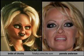 bride of chucky Totally Looks Like pamela anderson