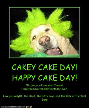 CAKEY CAKE DAY! HAPPY CAKE DAY!