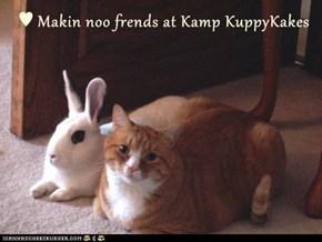 ♥ Makin noo frends at Kamp KuppyKakes