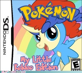 Rule 647 of the Internet: Keldeo is a pony