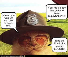 Kamp: Even officers know how important it is to get kids to Kamp!