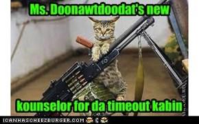 Da kampers doan kno his ammo is blankz