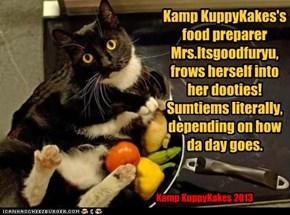 Kamp KuppyKakes FOOD!