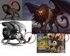 badass manticore pokemon?