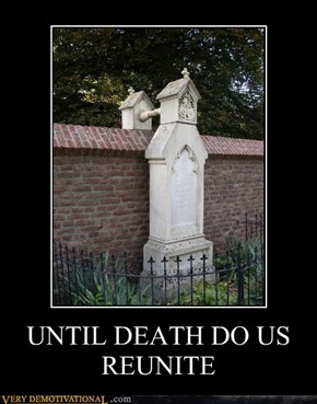 UNTIL DEATH DO US REUNITE