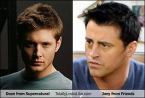 Dean from Supernatural Totally Looks Like Joey from Friends