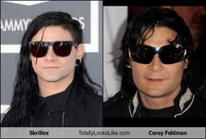 Skrillex Totally Looks Like Corey Feldman