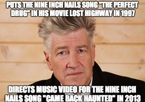 David Lynch Knows What He's Doing