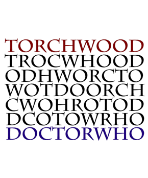 A Whovian's Favorite Anagram