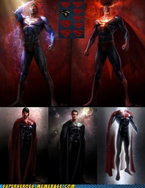 'MAN OF STEEL' CONCEPT ART
