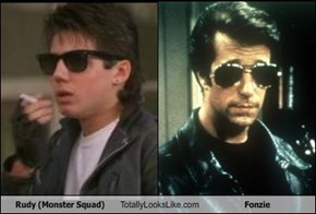 Rudy (Monster Squad) Totally Looks Like Fonzie