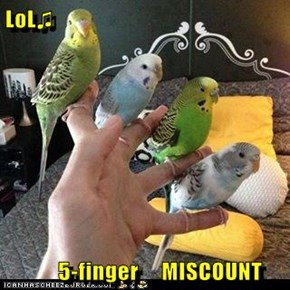 LoL♫        5-finger     MISCOUNT
