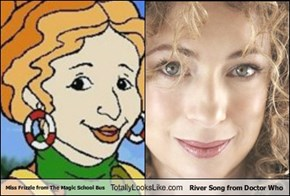 Miss Frizzle from The Magic School Bus Totally Looks Like River Song from Doctor Who