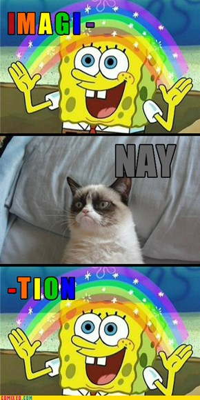 Nay, SpongeBob!