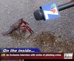 On the inside... - An Exclusive interview with victim of phishing crime