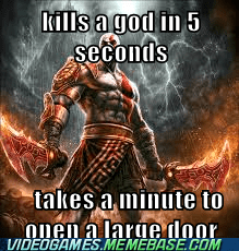 kratos is op