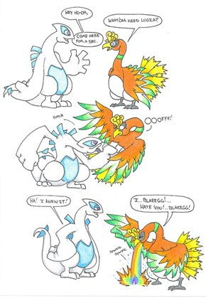 Lugia is a Real Jerk
