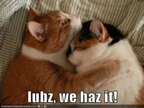 lubz, we haz it!