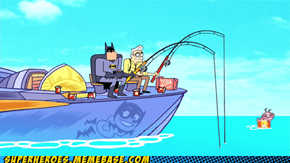 Batman: the worlds greatest fisher