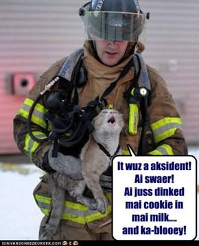 A stolen cookie, no doubt!