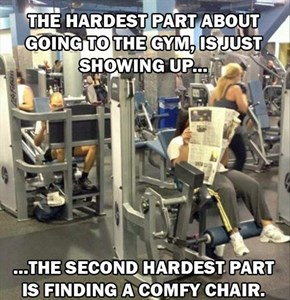 Working Out Has Never Been So Hard