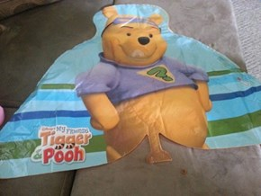 Does Pooh Have to Look at Me While I do This?