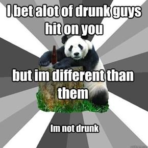 Drunk Panda Isn't Drunk!