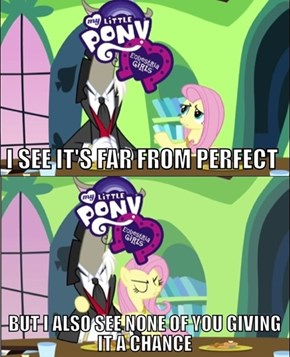 Thank you, Fluttershy