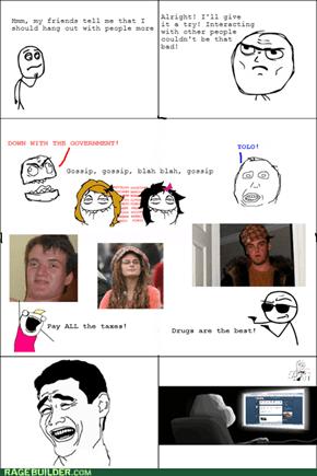 Introvert rage