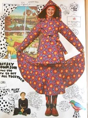Vintage Spread in Seventeen Magazine