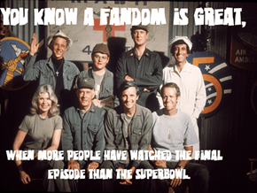 M*A*S*H Is Best Fandom