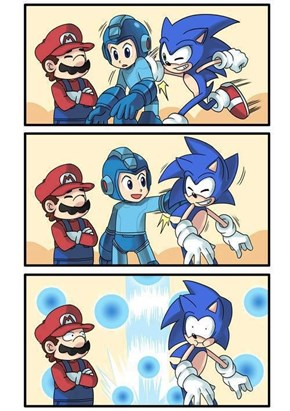 First Megaman problem in smash