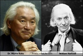 Dr. Michio Kaku Totally Looks Like William Hartnell